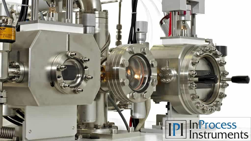 Logo von InProcess Instruments und Abbildung des Membraneinlasses