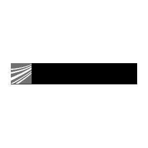 Das Logo des Fraunhofer Instituts in schwarz-weiß.